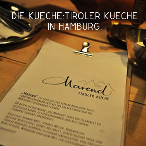Marend – Gastro inHamburg